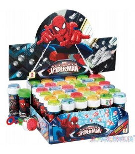 BOLLE DI SAPONE SPIDERMAN ML 60
